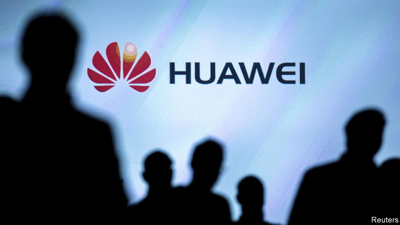 Huawei está em perigo Estados Unidos